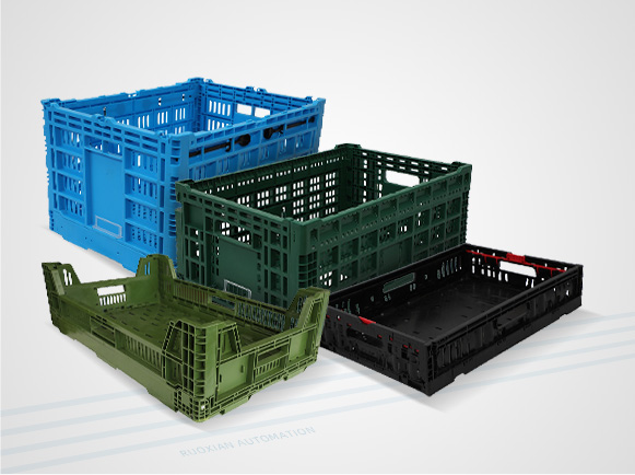 Folding Mesh Containers